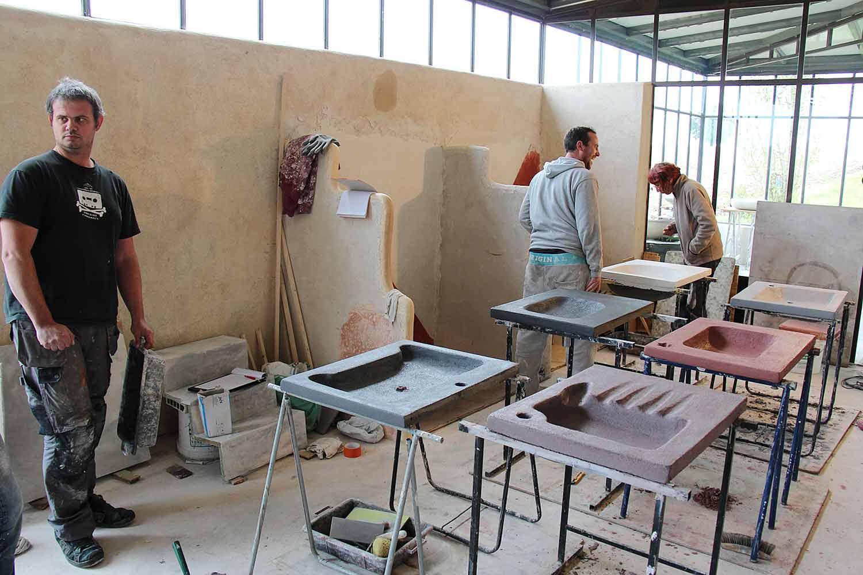 atelier beton cire perfect beton cire sur carrelage les ateliers brice bayer d int rieur plan. Black Bedroom Furniture Sets. Home Design Ideas